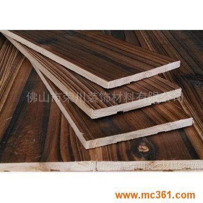 碳化木板装饰面板材吊顶贴面板供应全国各地桑拿板