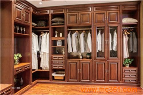 上海美国红橡木衣柜 帮洛尼公司 专业销售红橡木衣柜