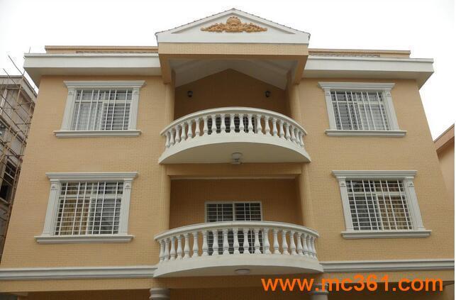 别墅铝合金门窗定做/阳台防护栏安装公司
