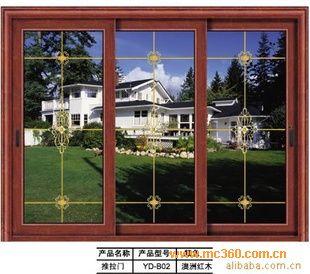 供应广东高档铝合金门窗.铝木复合门窗