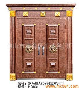 阳江欧式罗马柱别墅门图片
