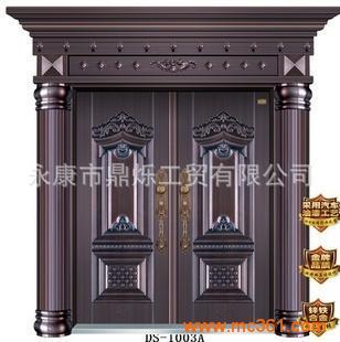 豪华欧式罗马柱造型双盖边