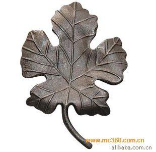 铁艺配件 铁花 铸钢树叶 叶子图片-门窗幕墙网
