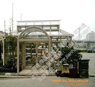 【30年结构施工】设计制作钢结构烤漆钢化中空玻璃房