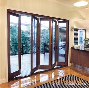 钢板门 优质门窗 供应豪华重型铝合金推拉门图片 门窗幕墙网