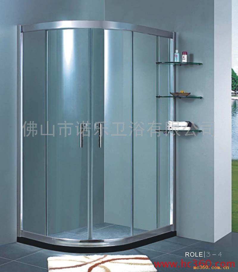 卫生间大理石淋浴 卫生间淋浴效果图 卫生间洗脸盆柜组合高清图片