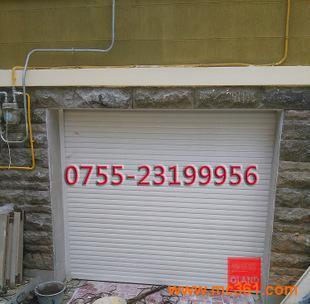 定做安装欧式55型电动亮光白铝合金卷帘门窗阳台安全防盗遥控卷闸