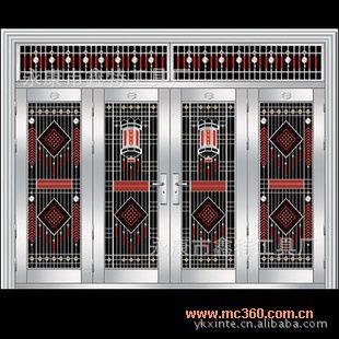 供应不锈钢门,不锈钢大门,门,不锈钢子母门图片 永康市鑫特工具厂