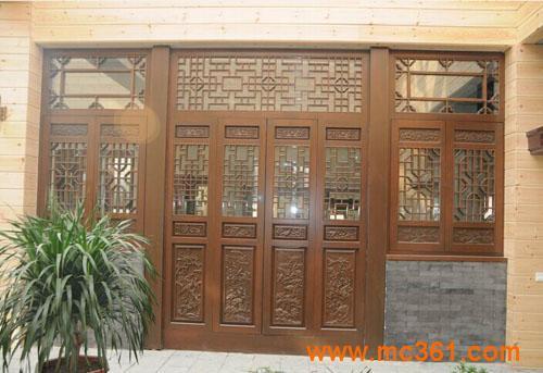米兰之窗中式仿古窗图片