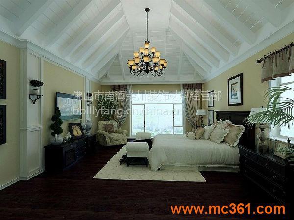 白漆桑拿板护墙吊顶背景板木装饰面板材扣板飘窗白漆板装修效果
