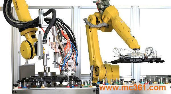 机器人涂胶机_喷涂设备_大连华工创新科技股份有限