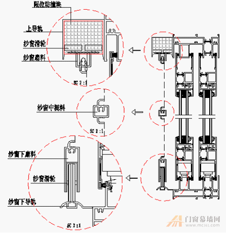 室外轨道行吊电路安装图